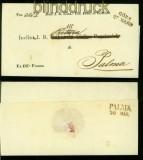 Italien GÖRZ Vorphila-Brief 27.3.1843 nach Palma (41898)