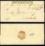 AUSTERLITZ Dienstbrief 8.10.1858 nach Sokolnitz (41899)