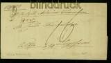 Ungarn TEMESVAR TEMESWAR Vorphilabrief 1836 nach Lugofsini (41902)