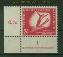 DDR Mi #  282 mit Druckerzeichen postfrisch (35443)