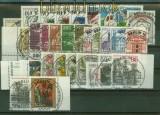 Berlin 1982 kompletter Jahrgang gestempelt Sonderstempel Berlin ohne C + D-Werte (35398)