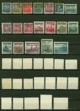 Böhmen und Mähren Mi # 1/19 Aufdrucksatz gestempelt gepr. Gilbert (42021)