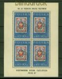 Polen Mi #  1177 postfrischer Kleinbogen Briefmarkenausstellung (42071)