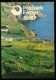 Dänemark Faröer Jahreszusammenstellung 1980 postfrisch (41844)
