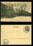 Altona sw-AK Gruss aus..... Donners-Park 1901 (d6711)