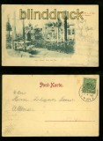 Altona-Ottensen sw-AK Elbschlucht an der Elbe G. Harrer 1899 (d6716)