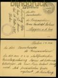 Feldpost 1. Weltkrieg Postkarte des Großen Hauptquartiers 1916 (41848)