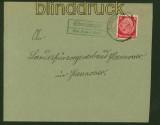 dt. Reich Fernbrief Landpoststempel OBERLANGEN über Lathen 1939 (41849)