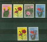 Algerien Mi # 517/20 und 628/29 Blumen postfrisch (35429)