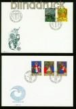 Liechtenstein Ersttagsbriefe 1981 bis 1995 komplett (35485)