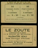 Belgien Markenheftchen MH # 13 d (c) postfrisch (35472)