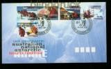 Australische Gebiete Antarktis Mi # 110/14 Ersttagsbrief FDC (35344)