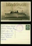 Hansestadt DANZIG sw-Foto-AK Dampfer auf hoher See 1939 (d0049)