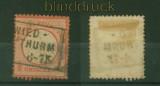 dt. Reich Mi #   3 gestempelt geprüft Krug BPP (35346)