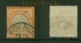 dt. Reich Mi #  18 gestempelt geprüft Krug BPP (35357)
