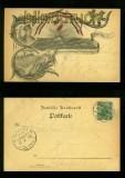 BERLIN  Litho-AK Deutscher Verein Geselligkeit 1900 (d6535)