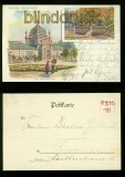 BERLIN farb-AK Kunst-Ausstellung 1905 (d6536)