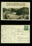 HANNOVER sw-Foto-AK Ernst-August-Platz 1935 (d6589)