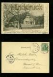BAD SALZHAUSEN sw-AK Gruss vom Forsthaus Glaubzahl 1902 (d6567)