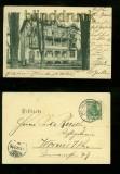 BAD SALZHAUSEN sw-AK Pension Logirhaus Stillfried 1902 (d6568)