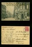 ELMSHORN sw-AK Königstrasse Bahnpost 1911 (d6688)