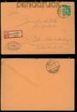 all. Besetzung Gemeinschaftsausgaben Mi # 936 EF R-Brief Not-R-Zettel 1947 (41869)