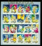 Niederlande Mi # 1835/84 postfrisches Folienblatt Dezembermarken 2000 (35488)
