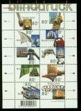 Niederlande Mi # 1807/16 Schiffsparade postfrischer Kleinbogen (35487)