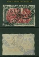 dt. Reich Mi #  81 A b gestempelt geprüft Jäschke-Lantelme BPP (35495)
