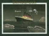 Guyana Mi # Block 563 Untergang der Titanic postfrisch (35546)