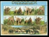 Vietnam Mi # 3304/07 Elefant postfrischer Kleinbogen (35561)