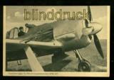 Focke-Wulf-Jäger Fw 190 mit Doppelsternmotor BMW 801 sw-AK  ungebraucht (d0092)