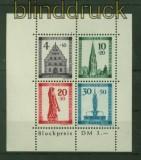 franz. Zone Baden Mi # Block 1 A Freiburg Block gezähnt Marken postfrisch (35586)