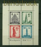 franz. Zone Baden Mi # Block 1 A Freiburg Block gezähnt postfrisch (35587)