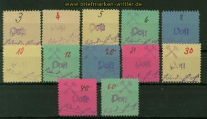 Lokalausgaben Großräschen Mi # 1/12 postfrisch (35596)