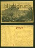 LINGEN sw-AK evangelische Bürgerschule 1917 (d6753)