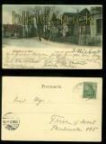 LINGEN farb-AK Unter den Linden 1901 (d6761)