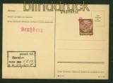 dt. Reich Mi # A 795 auf Einschreiben Blankenburg (Harz) 1944 (42313)