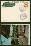 Hamburg farb-AK Ausstellungs Planten un Bloemen 1959 (42461)