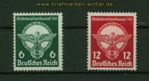 dt. Reich Mi # 689/90 postfrisch Berufswettkampf (42340)
