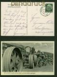 dt. Reich sw-AK Mit vereinter Kraft wird das Rohr auf die Lafette gezogen 1938 (42367)