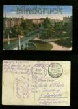 BERLIN farb-AK Hochbahn Nollendorfplatz 1916 (d6079)
