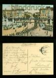 BERLIN farb-AK Hallesches Tor 1915 (d6082)