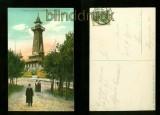 BERLIN farb-AK Gruss von den Müggelbergen Aussichtturm 1910 (d6087)