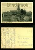 HAREN (Ems) sw-AK Blick zur katholischen Kirche  (d6102)
