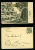 BAD EMS sw-AK Römerstrasse 1907 (d6157)
