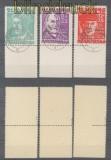 SBZ Mi #  20/22 Opfer des Faschismus gestempelt geprüft Kramp BPP (35657)