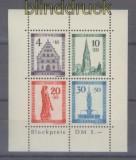 franz. Zone Baden Mi # Block 1 A Freiburg Block gezähnt postfrisch (42676)