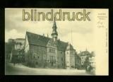 BLANKENBURG sw-AK Rathaus ungebraucht (d6164)