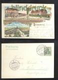 DÖBERITZ farb-Litho-AK Gruss vom Truppenübungsplatz 1906 (d6827)